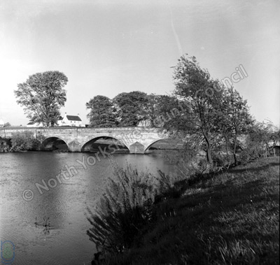 Fishing, River Ure, Bridge Hewick